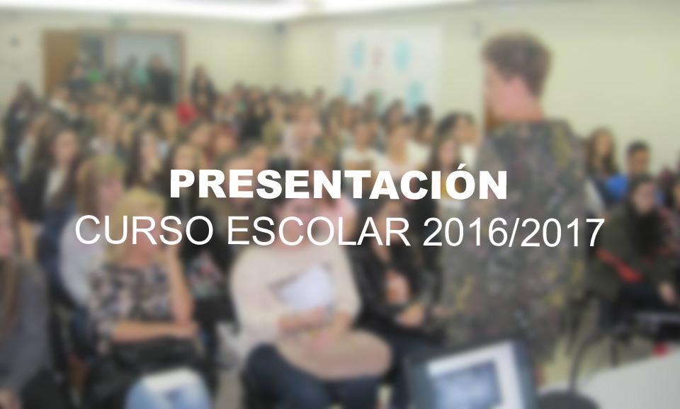 Presentación Curso 2016/2017